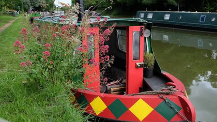 It is a 44ft cruiser stern narrow boat with a steel hull