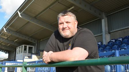 Joint St Neots Town boss Andy Davies can't wait for the new season to begin.