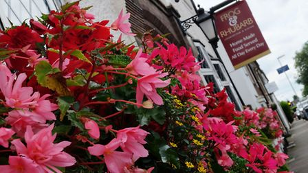 The Frog & Rhubarb is one of two pubs in the village