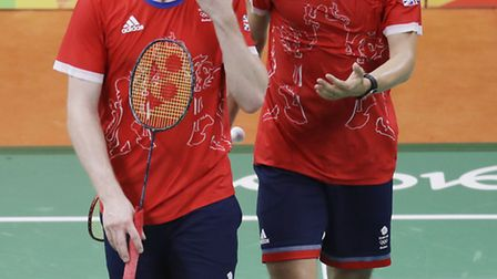 St Albans-based Marcus Ellis, left, and GB teammate Chris Langridge are through to the semi-final of