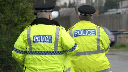Police are appealing after an attempted garage break-in in Royston.