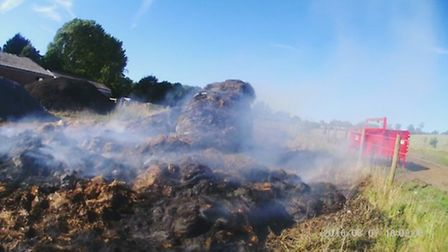 There have been two fires at Batford Farm in the space of one week