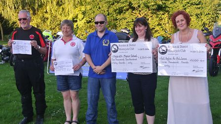 The Royston & District Motorcycle Club hosted a presentation evening on July 20, following their ann