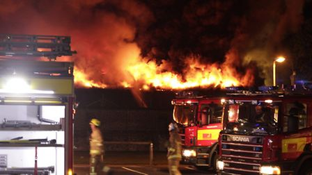 Batchwood fire. Photo courtesy Danny Connew