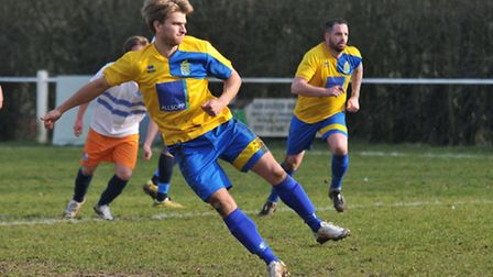 Harry Hunt had a busy first half. Picture: DANNY LOO