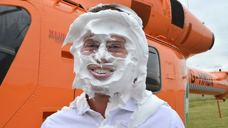 Daryl Brown , Chief Executive Officer at Magpas, being pied