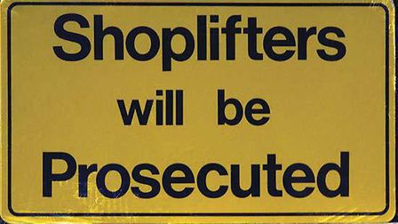 Instances of shoplifting have increased in St Albans
