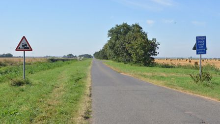 Puddock Road, in Warboys.