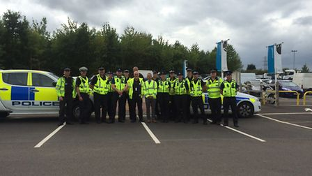 Operation Crucible saw police carry out checks on scrap metal dealers, including in St Albans and He