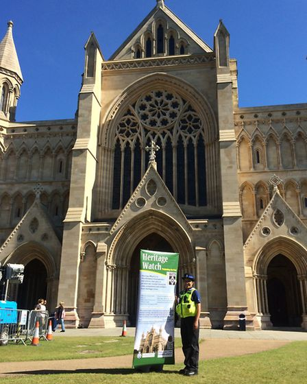 Heritage Watch at St Albans Cathedral