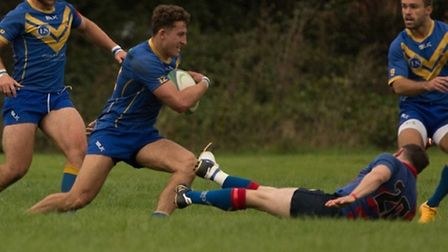Verulamians moved top of Herts Middlesex One with a 27-17 win over Old Streetonians. Picture: MARK L