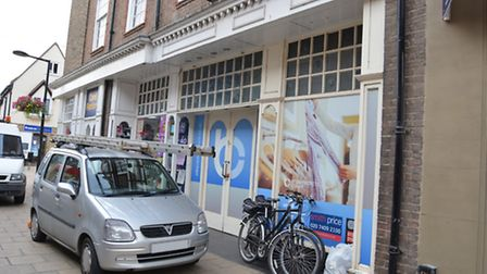 The former Next store, in High Street, Huntingdon.