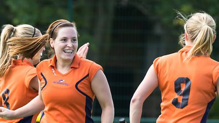 Fiona Mulder scored three for St Albans Ladies 2nds. Picture: WWW.CHRISHOBSONPHOTOS.CO.UK