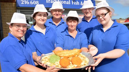 Traditional Fish & Chips in St Neots are the top fish and chip shop in Cambridgeshire, Norfolk and S