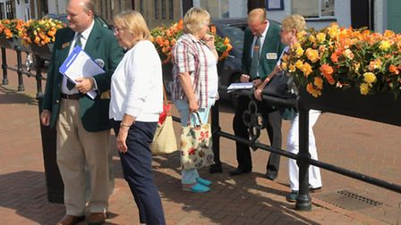 Judges looking around St Ives