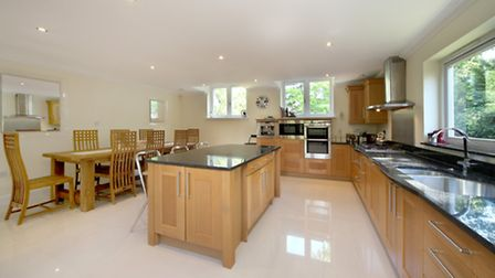 The spacious kitchen/diner is a highlight of the property