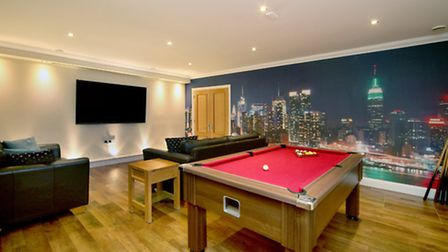 The property has its own games room