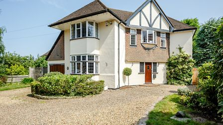 This four-bed family home is close to Harpenden town centre