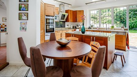 A highlight of the property is this spacious kitchen/diner