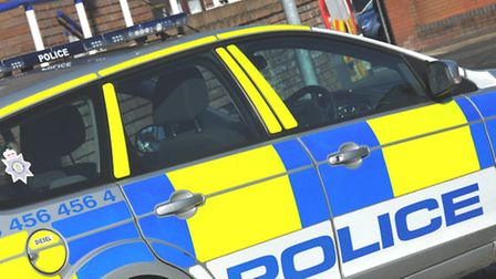 A man who escaped police in St Albans wearing just his underwear has handed himself in