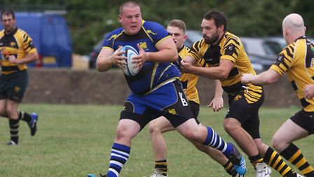 St Ives Bulls vs Ely Tigers. Picture: Steve Wells