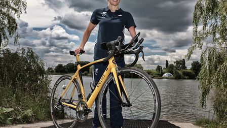 Clare Cunningham returns to Paralympics competition after a break of 20 years. Picture: DAVE TYRELL/