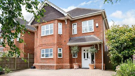 This detached family home is available for sale at offers in excess of £1,000,000