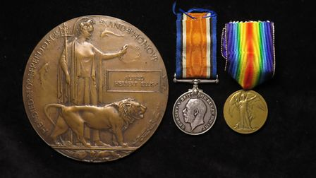 The medals went under the hammer in July