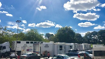 A film crew and trailers have been spotted across St Albans for the filming of BBC drama series Doct
