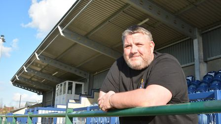 St Neots Town boss Andy Davies is back from his headline-hitting holiday. Picture: HELEN DRAKE