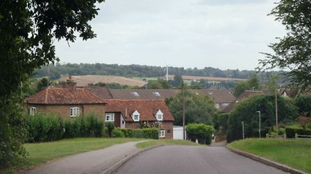 Kings Langley lies south of the Chiltern Hills