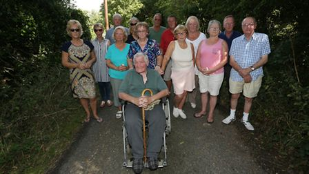 Guise lane residents are unhappy after South Cambridge district council have approved plans for new