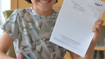 Barnaby Smith, aged 14, from Godmanchester, who has A* a-level Maths,