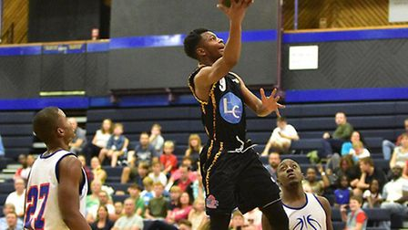 Essex Leopards v Team USA Select. Picture: PAUL PHILLIPS