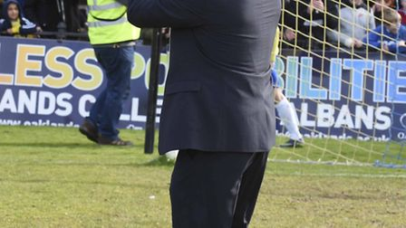 St Albans City have won six of their opening nine league fixtures. Picture: BOB WALKLEY