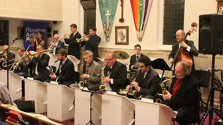 The Harmony in Harlem band in full flow.