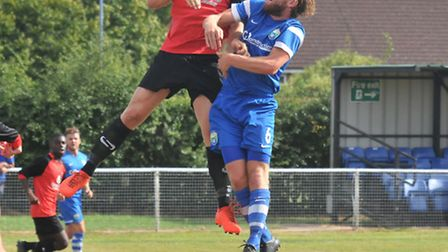 Spencer Clarke-Mardel scored one and made one against Sun Sports. Picture: DANNY LOO
