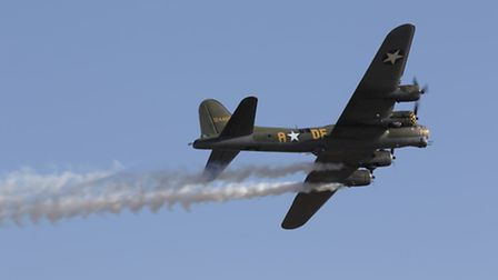 B-17 Flying Fortress Sally B at Duxford. Picture: IWM