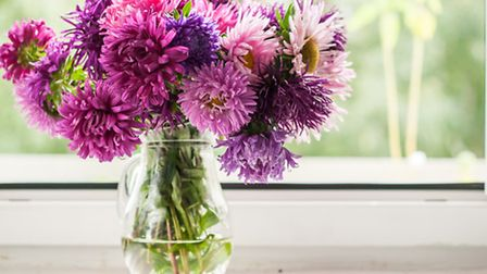 Fresh flowers can help bring a property to life