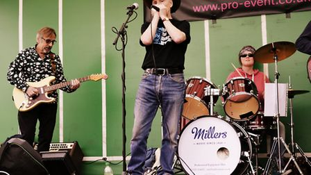 Cut & Run perform at the Musicians Against Homelessness gig in Meldreth. Picture: Rebecca Iles Photo
