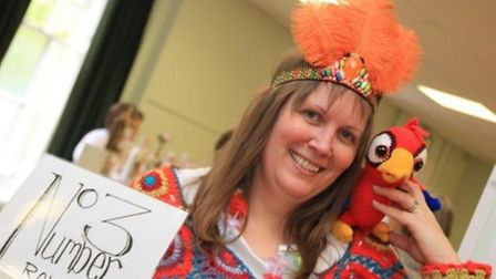 Organiser of Royston Craft Fair, Laura Whitford. Picture: Clive Porter