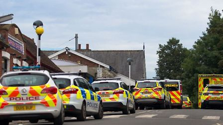 Fatality at Harpenden Station (12/9/2016). Photo courtesy of WH Photographic