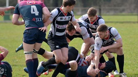Harpenden started the new season with a last-gasp win. Picture: KEVIN LINES