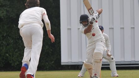 Radlett captain Kabir Toor is ready for their play-off final clash with Welwyn Garden City. Picture: