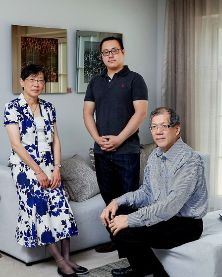 The Tan family liked the apartments so much they bought a couple