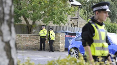 The search is on to find a man in his underpants on the loose in St Albans
