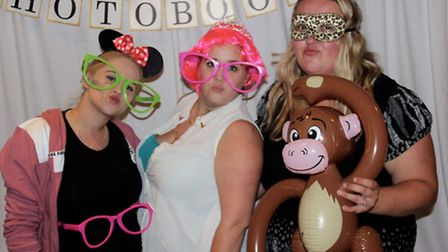 There was a photo booth as well as retail stalls prizes at the Sands fundraiser. Picture: Olivia Lon