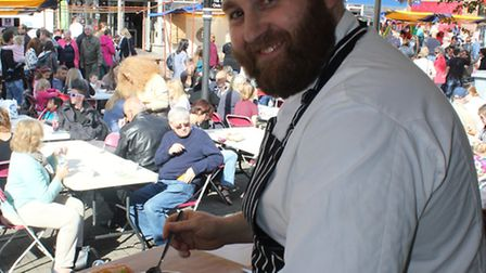 Phil Thompson at the St Albans Food and Drink Festival 2014
