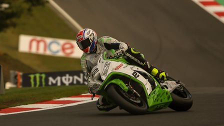 Royston's Luke Mossey in the British Superbikes Championship at Brands Hatch. Picture: Mark Long