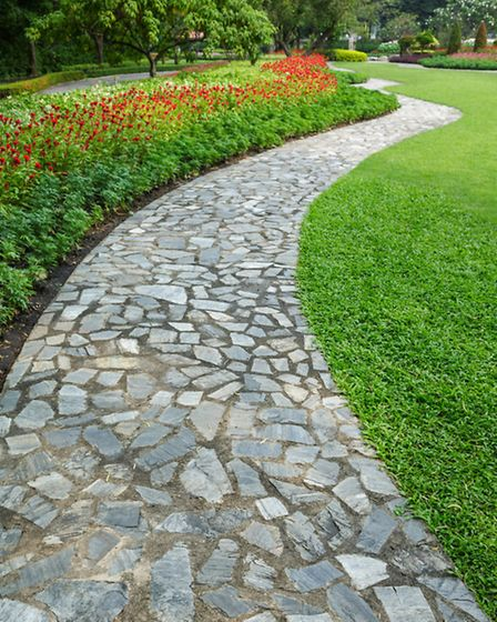 Consider whether your paving will be sited in sun, shade or both